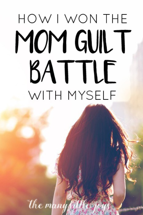 By removing one simple word from my vocabulary, I completely changed my perspective on mothering, life, and finding joy.