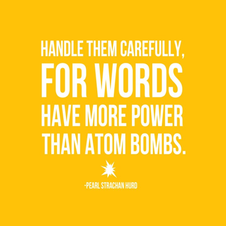 Words and Atom Bombs copy