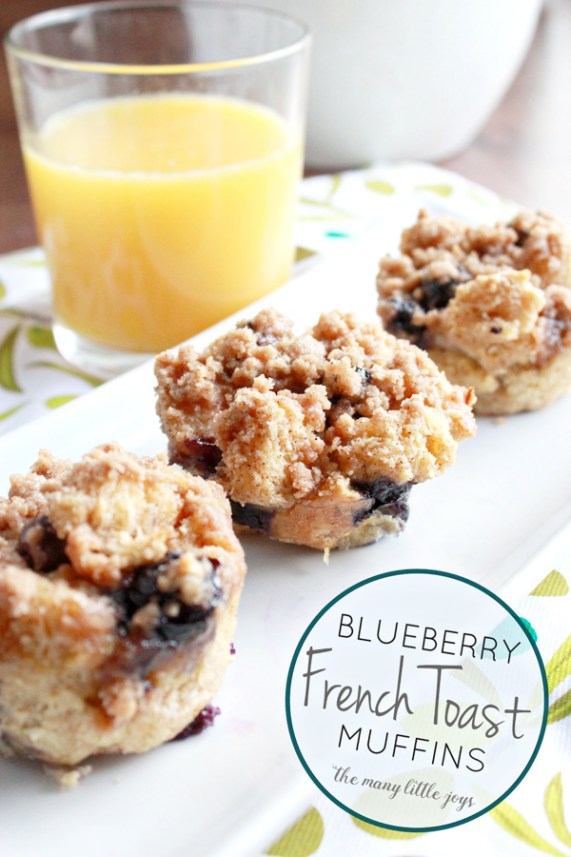 These blueberry french toast muffins with streusel topping are a great way to turn leftover french bread into a delicious breakfast or brunch that is sure to impress.