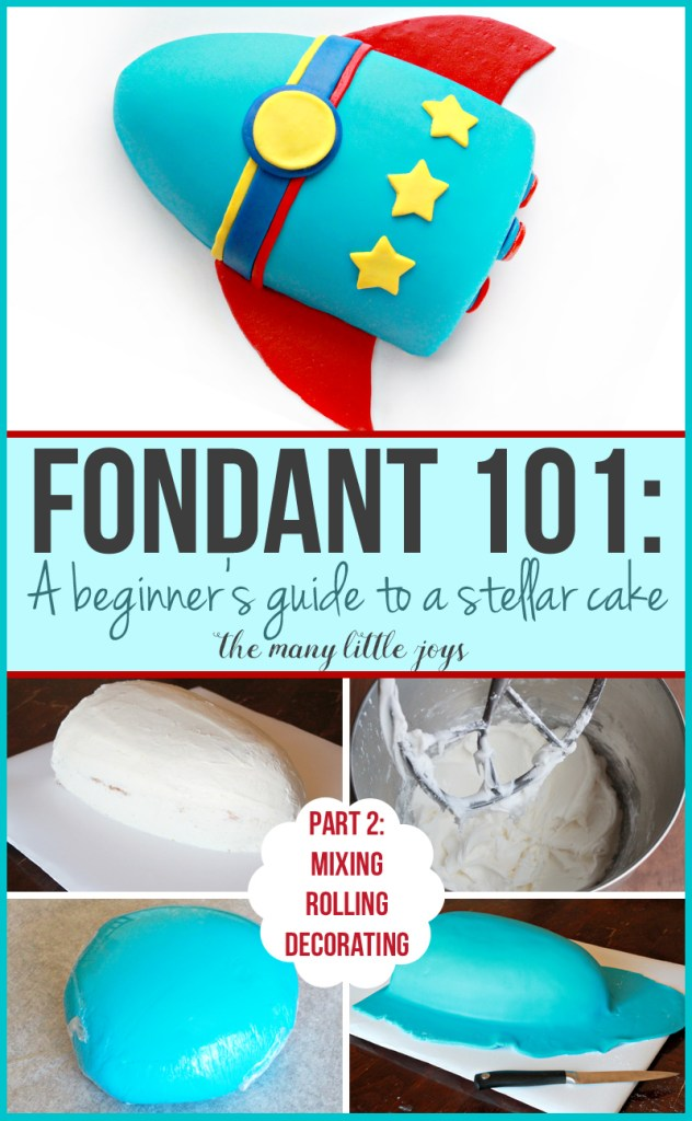 Have you ever wished you could make a really professional-looking cake? This two-part series will teach you everything you need to know about how to make a fancy fondant cake. Here's part two: how to make/roll the fondant and finish your cake. Give it a try!