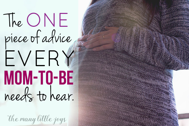 Becoming a mom is exciting, exhausting, amazing, and overwhelming. This is the single BEST piece of advice I was given as a mom-to-be that saved me in the first week of motherhood.