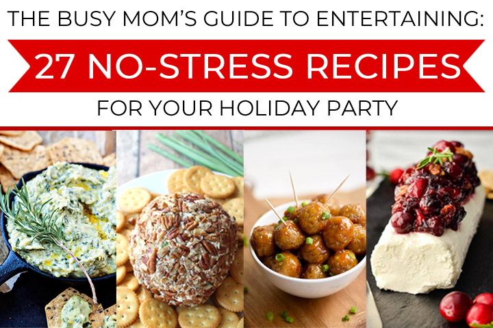 Hosting during the holidays can be stressful, but it doesn't have to be! Simplify your entertaining this season with easy party food recipes that are low-effort and still completely delicious.