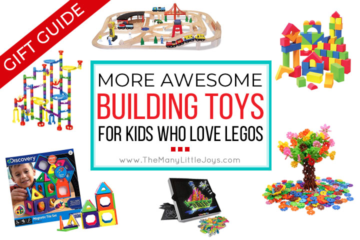 Do you have Lego-lovers at your house? If you're looking for other options for your budding engineer, try out these creativity-boosting gifts for kids who love to build.