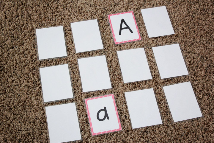 Flashcards can be boring, but they certainly don't have to be. Here is a giant list of fun and simple ways that I've used alphabet flashcards with my kids to make learning fun.