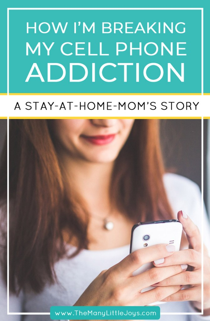 Technology is a blessing for stay-at-home-moms...but it can also be a curse.If you're feeling the need to disconnect from your phone, here are five simple changes I made to take back control andconnect more with the beautiful family in front of me.