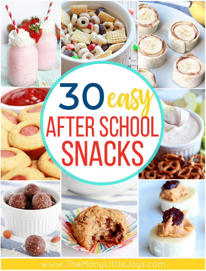 After a long day of school, kids need some real fuel to fight off the hangry monster that often strikes before dinner. These easy, healthy after school snacks are kid-approved and totally doable for busy moms.