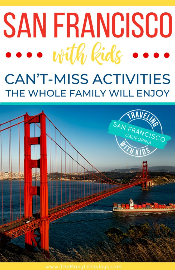 Planning a family vacation to the Bay Area? Here are our favorite things to do in San Francisco with kids--big tourist stops and hidden gems that the whole family will LOVE!