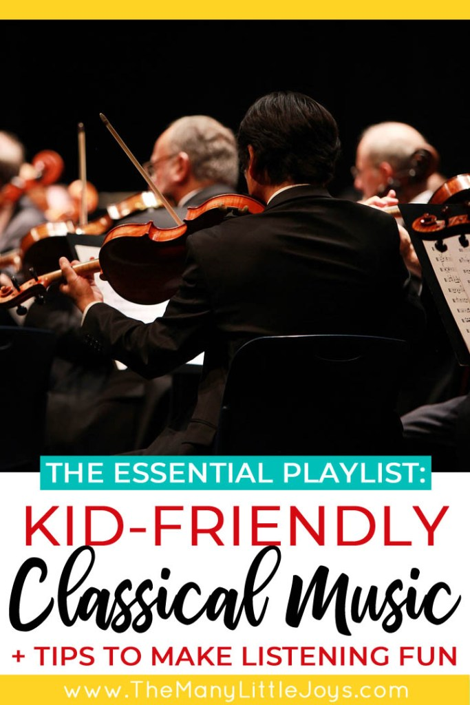 Too often kids think that classical music is BORING, but you can change that! With a few creative activities and the ultimate playlist of kid-friendly classical music, your kids will be rocking out to Beethoven in no time!