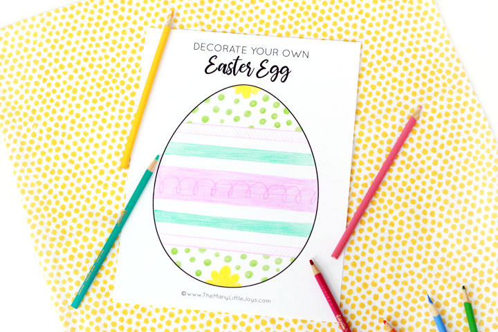 This fun and simple neighborhood Easter egg hunt game is a great way to  celebrate spring and connect with neighbors while still social distancing!
