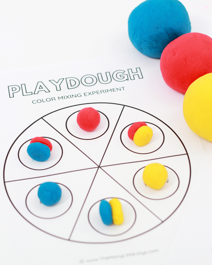 What happens when you mix red and blue? Kids will learn this and more in this creative hands-on learning activity that uses a playtime classic: playdough!