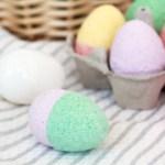 Easter Egg bath bombs STEM craft for kids