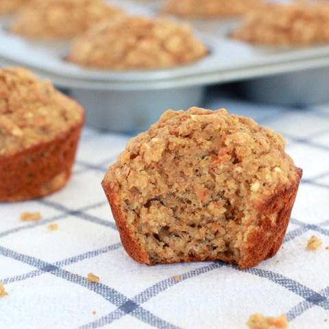 Superhero Muffins (AKA - Hidden veggie muffins)