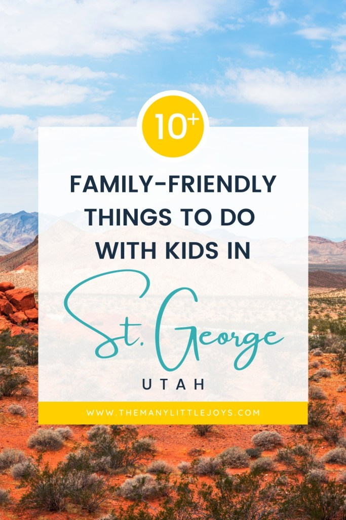 Looking for a great family-friendly vacation destination to spend a long weekend or spring break? Check out St. George, Utah! Here are some can't-miss fun, free, and memorable activities to do when traveling with kids in St. George!