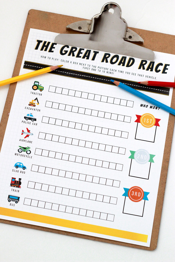 Traveling with kids really can be fun! All it takes is a little planning and some great road trip games to play while you're cruising down the highway. Try this one on your next long drive!