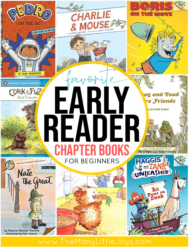 If your child is just crossing the bridge from picture books to novels, you'll love these easy-to-read chapter books. They are the sweet spot that will keep kids entertained while strengthening reading skills and confidence.