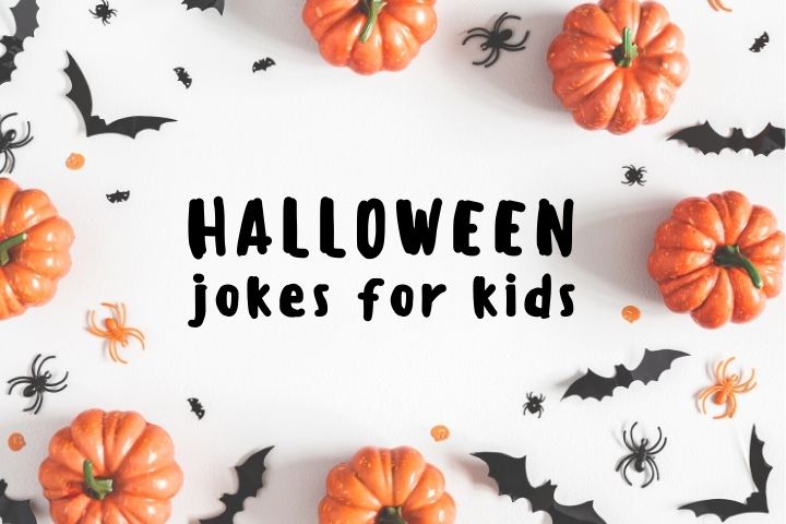 Tickle your kids' funny bone with these fun (and oh so punny) Halloween jokes and riddles for kids. Squeaky clean and perfect for even the littlest ghosts on the block.