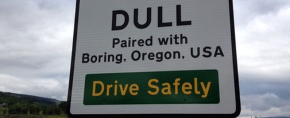 Dull Twinned with Boring