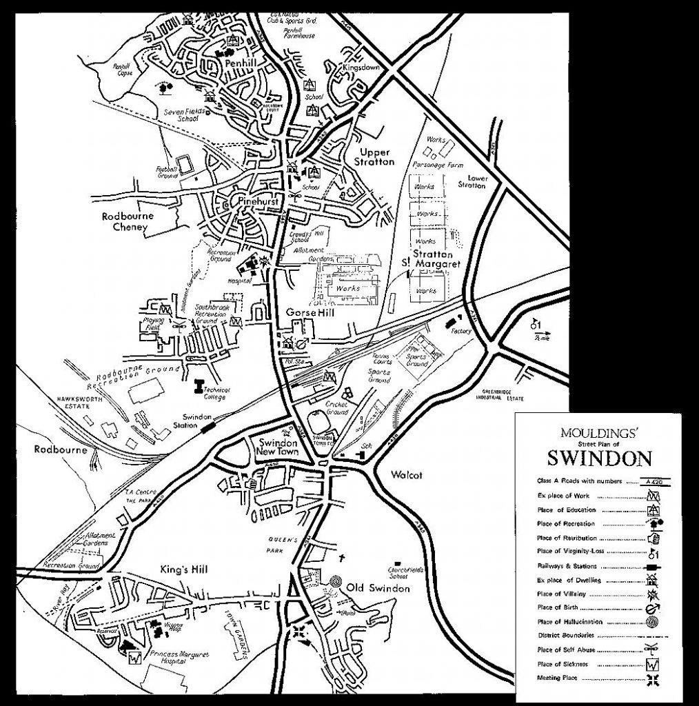 Moulding's Map of Swindon