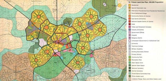 Dodoma Tanzania capital original plans