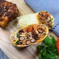 Jerk Chicken Burritos