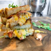 Lazy Lobster Grilled Cheese