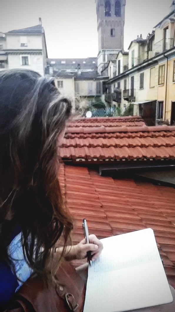 writing on the rooftop