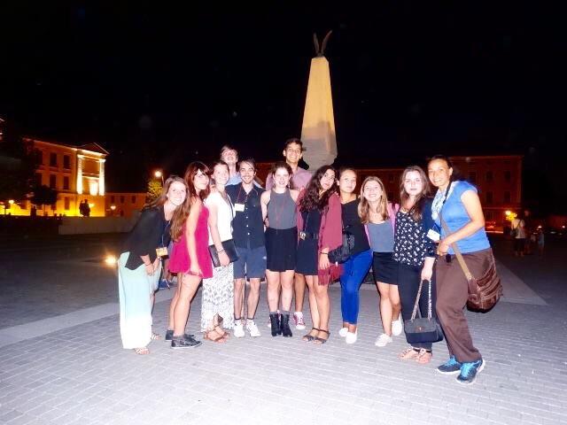 Nighttime trip to Alba