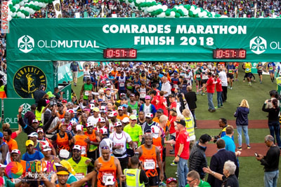 comrades finish 2018