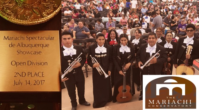The Mariachi Conservatory Youth Ensemble Scores big in Albuquerque, New Mexico!