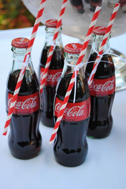 Soda Bottle Wedding Favors