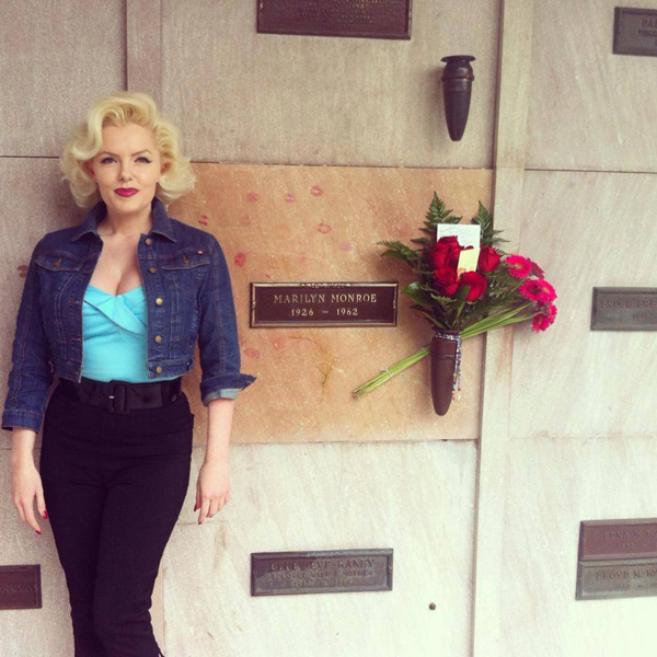 Image result for Marilyn Monroe crypt