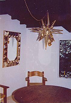 Marilyn Monroe Personal Mexican Star Light Dining Room