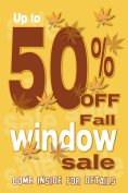 Fall Window Sale