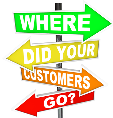 Where did your customers go