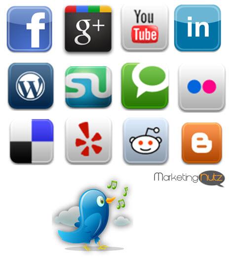 social media digital marketing website blogsite development