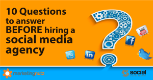 social media agency questions to answer before hiring