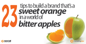 How to Build a Brand that is a Sweet Orange in a World of Digital Bitter Apples