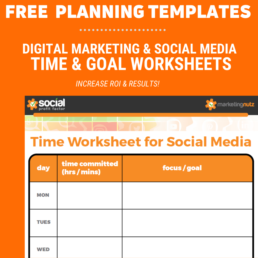 Digital Social Marketing Planning Templates