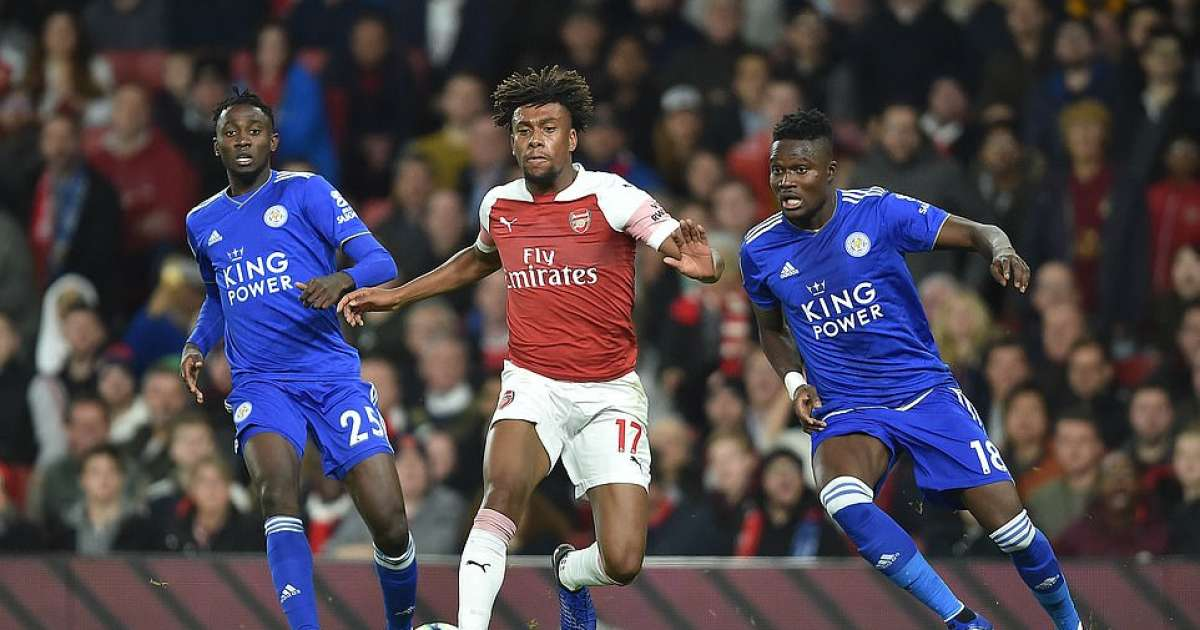 Arsenal's Iwobi gets Iheanacho and Ndidi's Leicester jerseys - Football