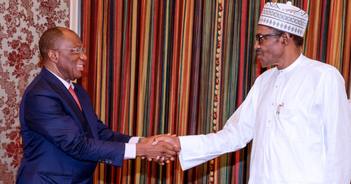 Buhari hosts oil and gas investor Leemon Ikpea at state house - Business
