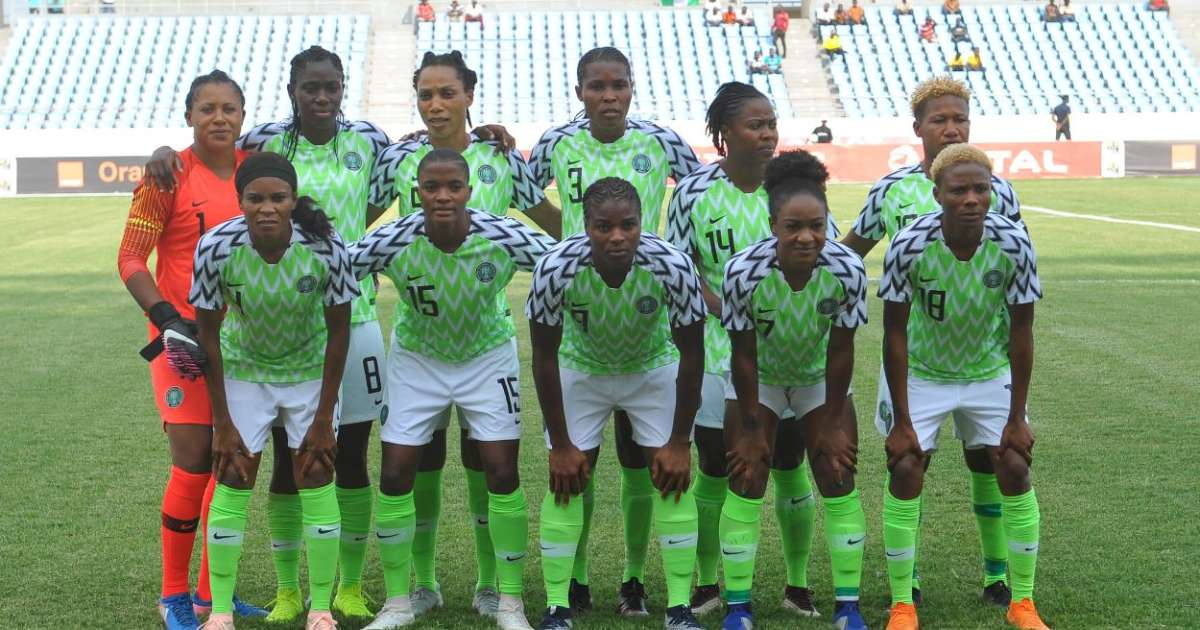 Super Falcons of Nigeria beat Zambia 4-0 in 2018 AWCON game - Football