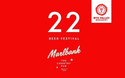 22 Tap Beers Festival at Marlbank Inn, Malvern, Worcestershire