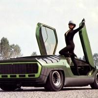 1968 Bertone Alfa Romeo Carabo.