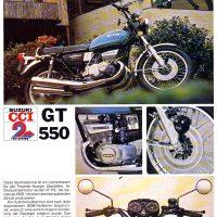 Suzuki GT550.