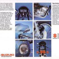 1976 Suzuki GT250 Sport.
