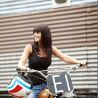 Modern biker girls.