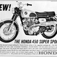 Honda 450.