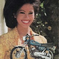 Vintage Indonesian bikes ads.