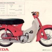 1970 Honda CM-70.