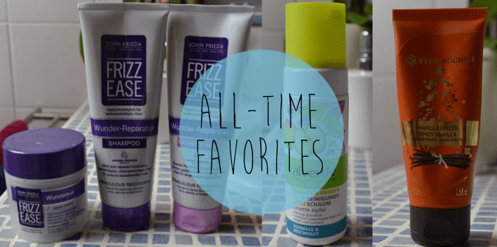 All-time favorites: Meine liebsten Pflegeprodukte